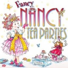 How to Host a Fancy Nancy Tea Party