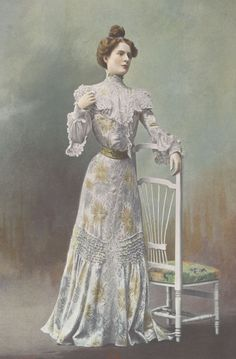 1901, Septembre - Les Modes Paris - Visiting dress by Ernest Raudnitz