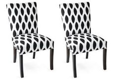 Carly Side Chairs, Pair $299.00 by One Kings Lane