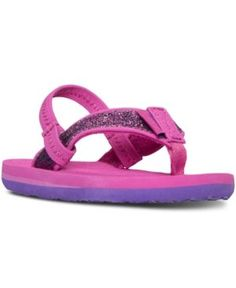 Teva Toddler Girls' Mush Ii Flip-Flop Sandals from Finish Line - Pink 10