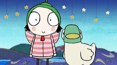 Sarah and Duck Hair bow