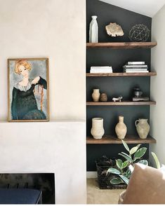 But I can't resist a few accessories. But they must meet several of my criteri Cozy Living Spaces, Home Living Room, Living Room Decor, Decor Interior Design, Room Interior, Franklin Homes, Gypsy Home Decor, Small House Design, Reno