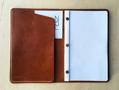 Handmade Notebook, Leather Notebook, Different Colors, Notebooks, Notebook, Laptops
