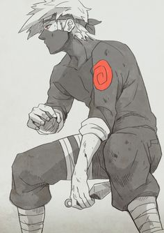 Naruto Challenge Day 1- Favorite Male Charater- Kakashi Hatake