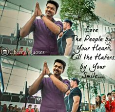 Vijay Movie Love Quotes, True Love Quotes, All Quotes, Motivational Quotes For Life, Cute Quotes, Picture Quotes, Funny Quotes, Inspirational Quotes, Actor Quotes