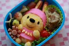 Adorable winnie the pooh ! Cutest Bento box I've ever seen.