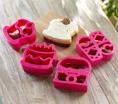 Sweets Lunch Punch Sandwich Cutters | Pottery Barn Kids