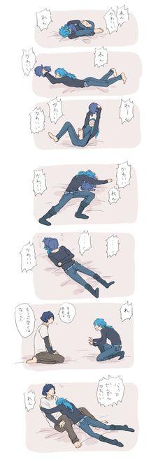 DRAMAtical Murder, Ren (Human), Ren (DMMd), Seragaki Aoba, Dog