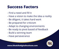 There's much more to success than just being recognized for achievements. Here are a few tips to help you shape and define your version of success. Success Factors, Financial Literacy, Life Skills, Work Hard, Online Business, Knowledge, Posts, Shape, Thoughts