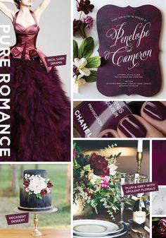 Pure Romance Wedding Invitation Inspiration Board by Wedding Paper Divas designer Stacey Day