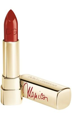 Dolce&Gabbana 'Voluptuous' lipstick. Inspired by the designers' muse, Monica Bellucci.