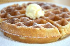 5 Secrets to Crisp, Flavorful Golden Waffles...no more soggy waffles!!!