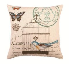 ♥ bird pillow. Sorry, the link is google :(