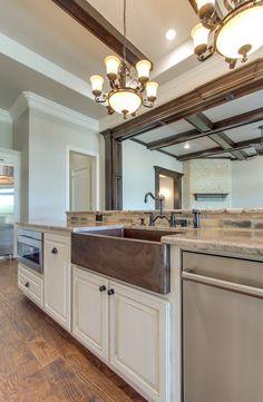 #dreamhome #interior #interiors #interiordesign #dfw #dallas #greenhome #customhome #architecture #kitchen #dreamkitchen #kitchensink #sink #lighting #lightfixture #counter #countertop
