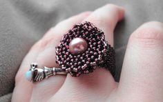 Rosette Beaded Ring | Flickr - Photo Sharing!