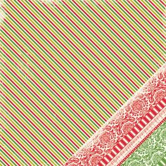 Making Memories - Twinkle - Glitter Stripe 12x12  Scrapbook Paper 1 Sheet. Sale ends 7/16/12!