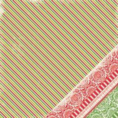 Making Memories - Twinkle - Glitter Stripe 12x12  Scrapbook Paper 1 Sheet. Sale ends 7/16/12!