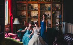 The Vintage Herald - Swanky Rock'n'Roll Inspired Bridal Shoot Rockn Roll, Bridal Shoot, Boutique, Jealousy, 1950s, Photography, Weddings, Vintage, Shades Of Blue