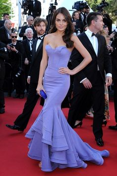 "Ximena Navarrete Photos - Annual Cannes Film Festival - ""Venus in Fur"" Premiere. - 'Venus in Fur' Premieres in Cannes Sexy Dresses, Nice Dresses, Prom Dresses, Oscar Dresses, Dress Prom, Celebrity Red Carpet, Celebrity Dresses, Zac Posen, Mode Glamour"