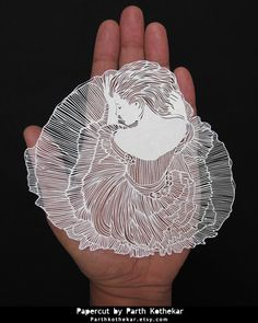 Miniature Papercut - Papercutting - Paper art by ParthKothekar.deviantart.com on @DeviantArt