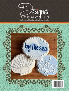 Seashells Cookie Cutter and Stencil Set