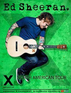 Ed Sheeran announces 30-plus dates for 2015 North American tour
