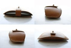 LORAY:N handmade leather camera accessories & more: LEATHER MAGIC MOUSE CASE