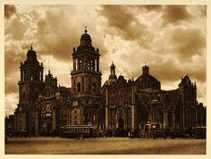 Catedral Metropolitana de la Cuidad de México, 1925
