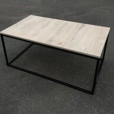 "DM Custom Furniture on Instagram: ""IN STOCK!  This beautiful steel and MelaWood (high quality laminate) coffee table is availed for purchase 😍  It is 1100mm long x 600mm wide…"""