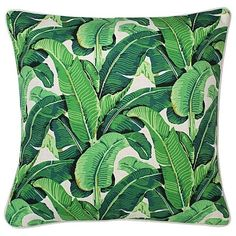 Haven Banana Leaf Outdoor Cushion, Beige (€7,09) ❤ liked on Polyvore featuring home, outdoors, patio furniture, outdoors patio furniture, outdoor furniture, outdoor patio furniture, outside patio furniture and outdoor garden furniture