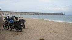 Beach camping Namibe Angola