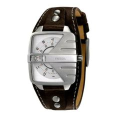 The vintage-appealing Fossil Analog Dial Watch brings a distinctive way of time display with a metal covering, all mounted on a pure leather cuff. Sharp Dressed Man, Well Dressed Men, Cool Watches, Nixon Watches, Fossil Watches For Men, Stylish Men, Swagg, Luxury Watches, Fashion Watches