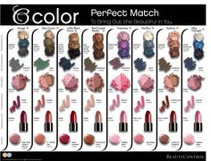 Never know what to put shadow to put with what lip color? The make up has had a MAKEOVER! This handy guide is awesome! Check out the new on trend colors, click here.