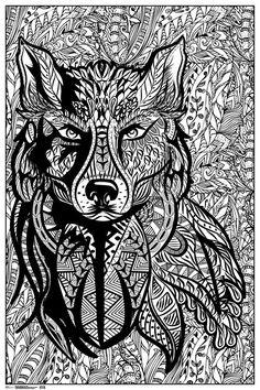 Wolf Mandala Tattoos Mandala