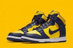 half off 4da7f 372b4 Nike Dunk High Michigan