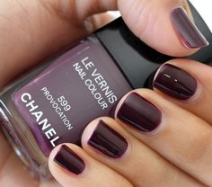 Chanel Le Vernis Nail Lacquer in Provocation.