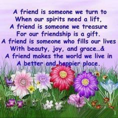 A Friend Poem