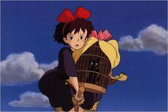 Kiki la petite sorcière Hayao Miyazaki, Totoro, Studio Ghibli Films, Film Animation Japonais, Japanese Animated Movies, Film D, Kiki Delivery, Howls Moving Castle, Animation Reference