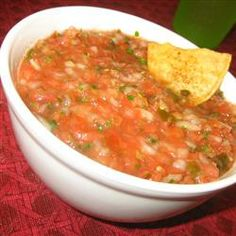I tried this and absolutely loved it - great salsa recipe, PIN!