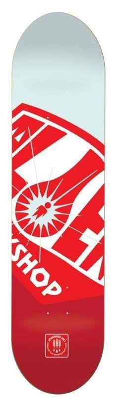 Alien Workshop Team OG Fuel Co Skateboard Deck - 8.25