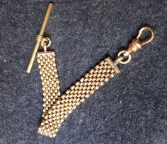 Vintage Gold Tone Watch Fob. by BriarVintage on Etsy, $85.00