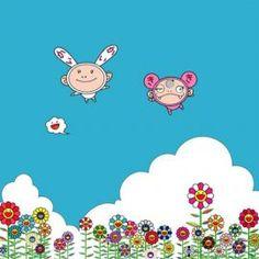 Né à Tokyo en 1962, Takashi Murakami est l'un des artistes japonais les p
