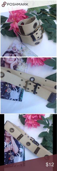 Military Style Belt Military style belt from Italian brand kor@kor .38 x 2 inches . kor@kor Accessories Belts