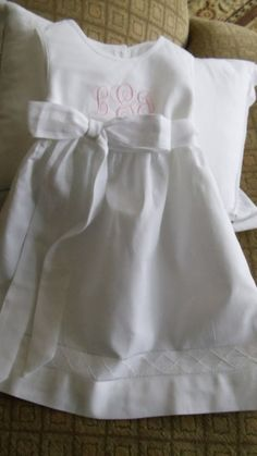 Can be ordered in different colors Baby Girl Birthday Dress, Birthday Dresses, Baby Baptism, Baptism Ideas, White Baptism Dress, Cotton Diapers, Baby Dedication, Christening Outfit, Calf Length Dress
