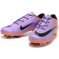 96d3ceff9 Sale Nike Mercurial Vapor 6 Superfly II FG WC Soccer Boots Purple Orange  Black5 Purple Sneakers