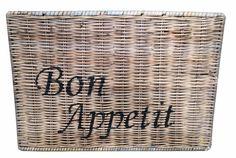 Sweet Living Rieten Placemat - Bon Appetit