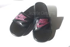 Swarovski Nike Slide Sandals