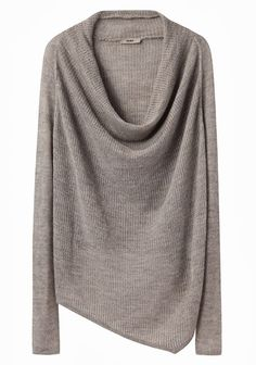 a4e15751005 Helmut Lang cowl neck knit sweater Fashion Moda