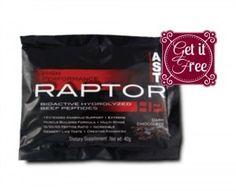 Free Raptor Super-Protein Supplement Sample