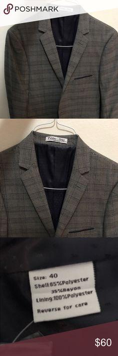 Men's gray and navy blazer Men's gray and navy blazer Suits & Blazers Sport Coats & Blazers